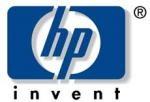 Logo van Hewlett Packard (HP)